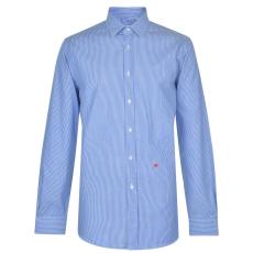 Moschino Férfi hosszú ujjú ing kék csíkos XL