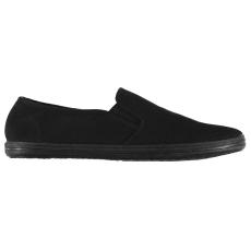 Slazenger Férfi vászon belebújós cipő fekete 45
