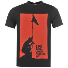 Official U2 férfi póló sötétszürke S