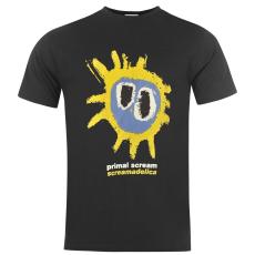 Official Primal Scream férfi póló fekete XL