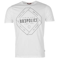 883 Police Police Airen Logo férfi póló fehér L