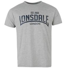 Lonsdale Box férfi póló szürke L