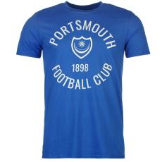 Team Portsmouth férfi póló királykék L