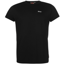 Lee Cooper Essential Crew férfi póló fekete S