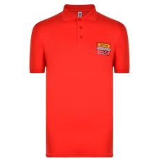 Moschino Race férfi galléros póló piros XL