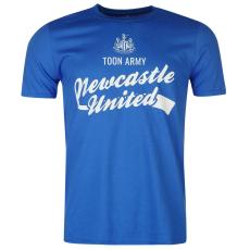 NUFC Newcastle United Graphic férfi póló királykék M