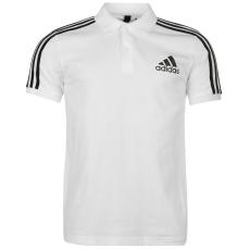 Adidas 3S Logo galléros férfi póló fekete L