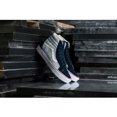 Vans Sk8-Hi Reissue Li (Speckle) Dress Blues/ White