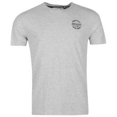 SoulCal Signature Crew férfi rövid ujjú póló szürke L