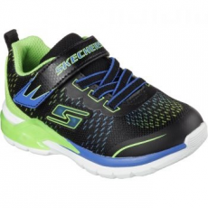 Skechers Lights Erupter II Lava Arc gyerek sportcipő, Blue/Lime, 33 (90551L-BBLM-33)