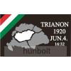 Trianon 1920. jun. 4. zászló 90x150 cm