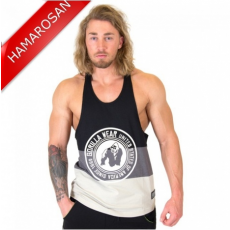 NEVADA STRINGER TANK TOP - BLACK/GRAY (BLACK/GRAY) [4XL]