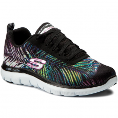 Skechers Sportcipő SKECHERS - Tropical Breeze 12754/BKMT Black/Multi