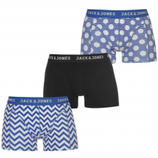 Jack and Jones Boxeralsó Jack and Jones Fashion 3 Pack Boxers fér.