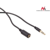MACLEAN Maclean MCTV-818 Jack cable 3.5mm jack-plug 1m black