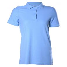 KEYA Női galléros piké póló, light blue