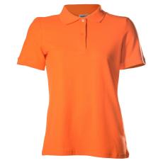 KEYA Női galléros piké póló, narancs