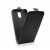 Flip szilikon belső Flip tok szilikon belsővel, Huawei Y6, fekete
