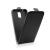Flip szilikon belső Flip tok szilikon belsővel, Samsung J120 Galaxy J1 (2016) , fekete