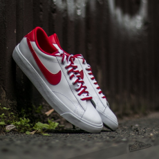 Nike Tennis Classic AC White/ Gym Red-Gum Med Brown