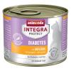 Animonda Integra Protect Adult Diabetes konzerv 6 x 200 g - Szárnyas
