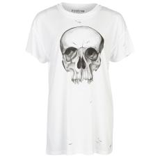Firetrap Póló Firetrap Blackseal Distressed Skull női
