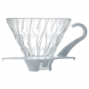 Hario skleněný dripper na kávu V60-01