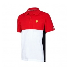 Branded Scuderia Ferrari pánské polo Póló Cut and Sew red F1 Team 2017 - M