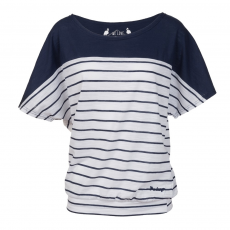Fundango Modena Stripe T-shirt,top D (2TQ110_489-palace blue)