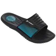 RIDER EVEREST II black/black/blue Férfi papucs