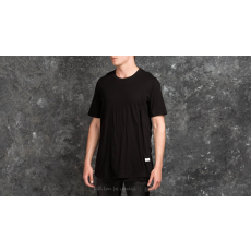 STAMPD Double Layer Scallop Tee Black