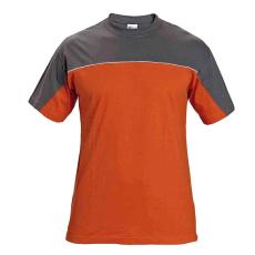 AUST DESMAN trikó szürke/narancssárga XL