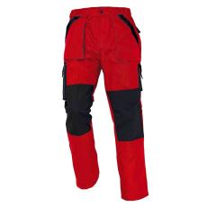 Cerva MAX nadrág piros/fekete 54