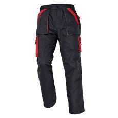 Cerva MAX nadrág fekete/piros 52