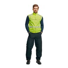 Cerva TEKKA ciklus kabát HV sárga XL