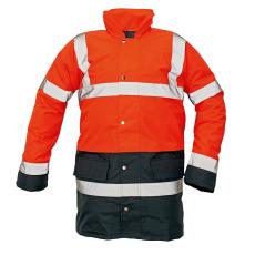Cerva SEFTON kabát HV piros/navy XL