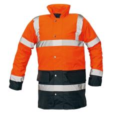 Cerva SEFTON kabát HV narancs/navy M