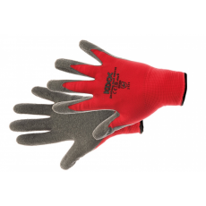Kixx ROCKING RED kesztyű nylon latex piros - 8