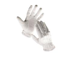 Cerva Bustard mikropöttyös kesztyű fehér  - 12