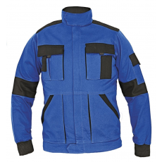 Cerva MAX LADY női kabát kék/fekete 48