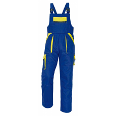 Cerva MAX kertésznadrág kék/sárga 58