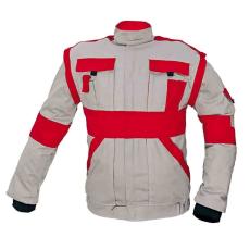 Cerva MAX kabát szürke / piros 56