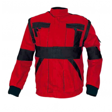Cerva MAX kabát piros / fekete 62