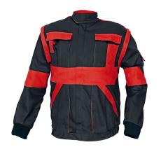 Cerva MAX kabát fekete / piros 50