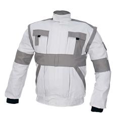 Cerva MAX kabát fehér / szürke 58