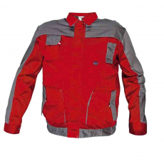 Cerva MAX EVO kabát piros/szürke 46