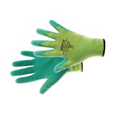 Kixx GROOVY GREEN kesztyű nylon, latex zöld - 8