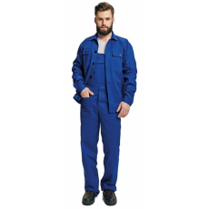 FF BE-01-005 set (kabát+mellesnadrág) kék 46
