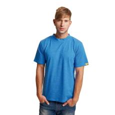 Cerva EDGE ESD trikó royal kék XXXL