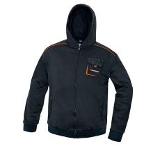 AUST EMERTON kapucnis pulóver fekete M